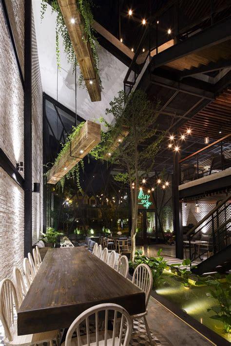 43 dương văn dương, p. Gallery of An'garden Café / Le House - 17 in 2020 | Garden cafe, Cafe design, Coffee shop design