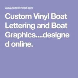 vinyl lettering for boats 25 best pontoon boat ideas images on pontoon