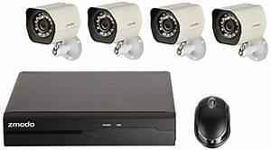 Zmodo Smart Poe Security System  U2014 8 Channel Nvr  U0026 8 X 720p