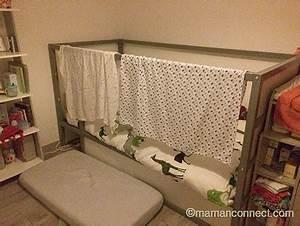Lit Cabane Au Sol : quand passer b b dans un lit de grand maman connect ~ Premium-room.com Idées de Décoration