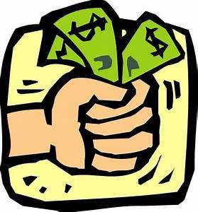 Fist Full Of Money clip art Free vector in Open office ...
