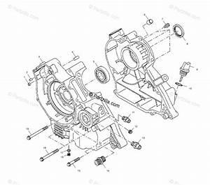 Polaris Atv 2001 Oem Parts Diagram For Crankcase A01cb32aa