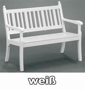 Gartenbank 2 Sitzer Weiß : gartenbank 2 sitzer hohenzollern wei kunststoff bei ~ Bigdaddyawards.com Haus und Dekorationen