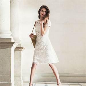 Tenue Femme Pour Un Mariage : robe mariage civil 30 tenues pour la c r monie l 39 express styles ~ Farleysfitness.com Idées de Décoration