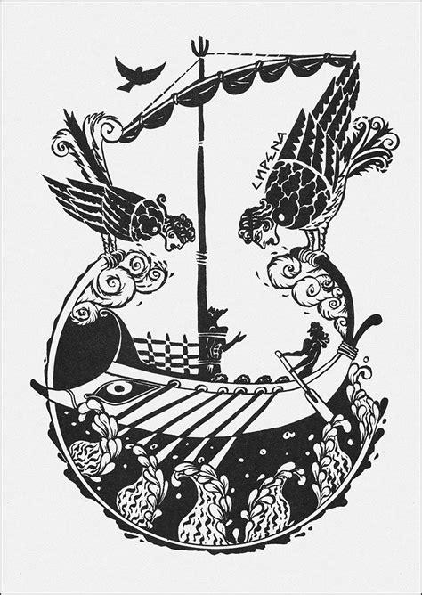 The Adventures of Odysseus. Illustrator Alexey Kapninsky. Алексей Капнинский, Приключения