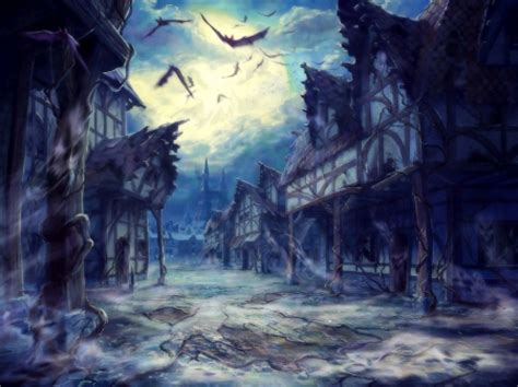ghost town fantasy abstract background wallpapers