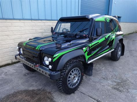 car for sale bowler wildcat 200 comp safari rally raid road land rover rally cars