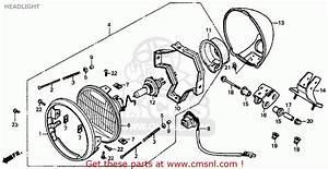 Honda Vt1100c Shadow 1100 1994  R  Usa California