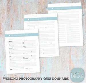 wedding photography questionnaire photoshop template ng019 With wedding photography questionnaire