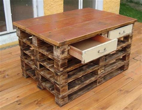 kitchen island from pallets useful furniture by using pallet woods pallets 5071