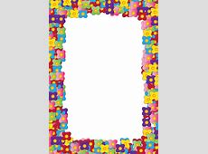 Colorful Border Designs Clipartsco