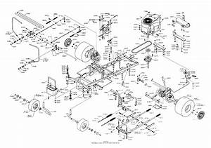 Dixon Ztr 5020  2000  Parts Diagram For Chassis