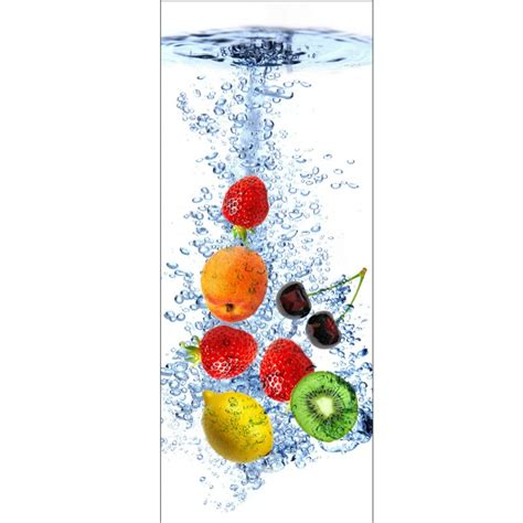 sticker porte cuisine stickers porte déco cuisine fruits déco stickers