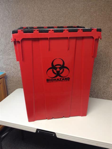 red bag medical waste management waste pro
