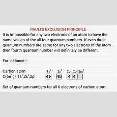 Pauli's Exclusion Principle Youtube