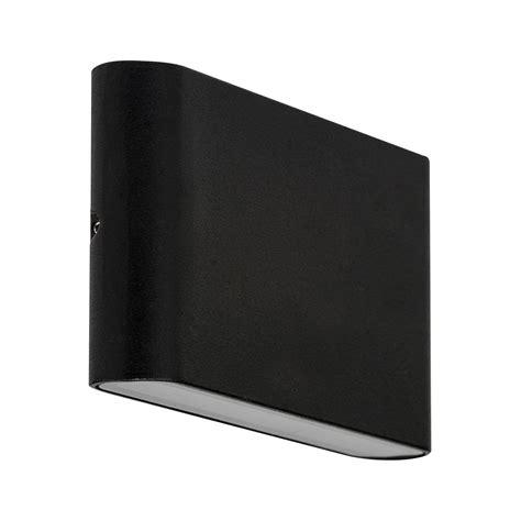 lisse 10w led up down wall washer matt black lights direct
