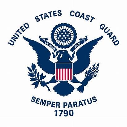 Guard Coast Flag United States Flags Circle