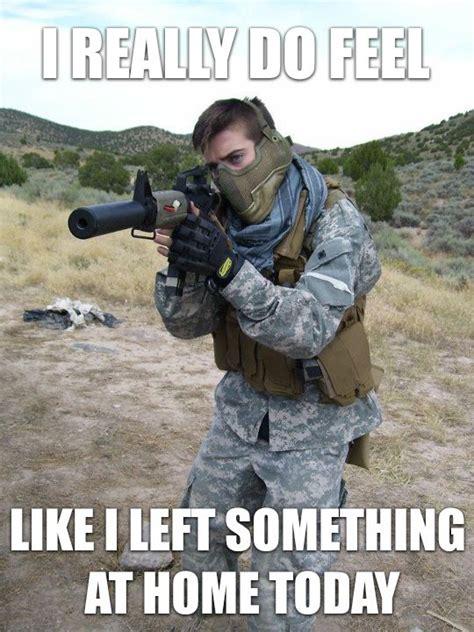 Airsoft Memes - he forgot his boot bands damn it airsoft meme s pinterest airsoft