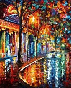 Peinture De Paris Poissy : peintures impressionnistes de paris en automne de leonid ~ Premium-room.com Idées de Décoration