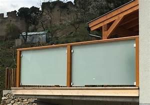 Balkon Handlauf Holz : balkon aus holz und edelstahl ~ Lizthompson.info Haus und Dekorationen