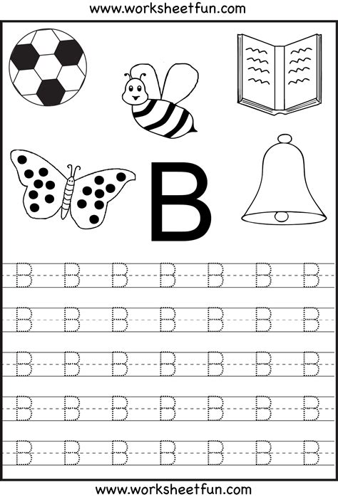 letter tracing worksheets on tracing