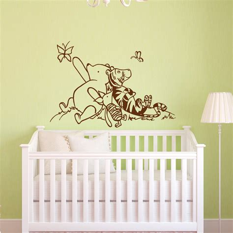 winnie the pooh nursery winnie the pooh wall decals nursery classic winnie the pooh