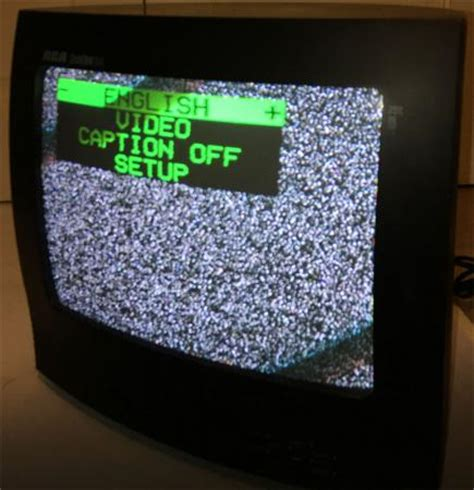 vintage 1990 s rca colortrak plus 13 quot crt color tv
