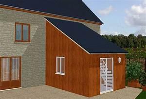 Extension Maison Préfabriquée : surelevation maison bois montpellier la couronne 16 39 jura plan maison etage toit plat ~ Melissatoandfro.com Idées de Décoration