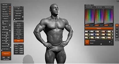 Male Draw Muscles Bodybuilder 360 Anatomy Builder