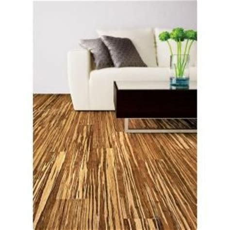 Home Depot Tiger Stripe Bamboo Flooring by Bamboo Flooring Strand Woven Tiger Stripe 9 16 In H X 3