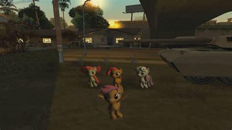 gta san andreas   pony skin pack mod youtube