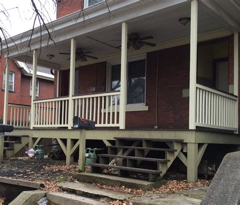 Build Porch by How To Build A Handrail For Your Porch Safer Stairs In 3