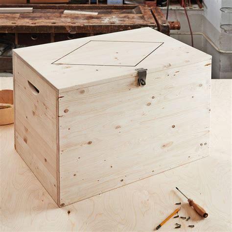 comment fabriquer un coffre a jouet en bois myqto