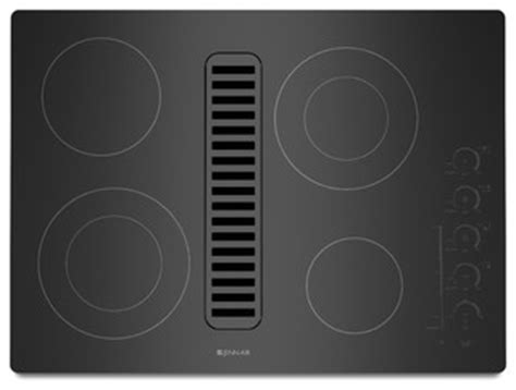 Jenn Air Countertop Grill by Jenn Air 30 Quot Electric Radiant Downdraft Cooktop Black On