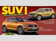VW TROC & VW TCross rendered by French media