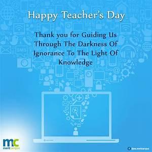 Happy #Teacher&... Computer Teachers Quotes