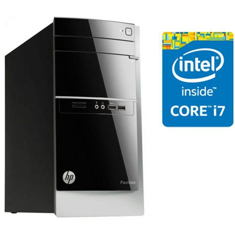 ordinateur de bureau intel i7 pc de bureau hp pavilion 500 435nk intel i7 4790s