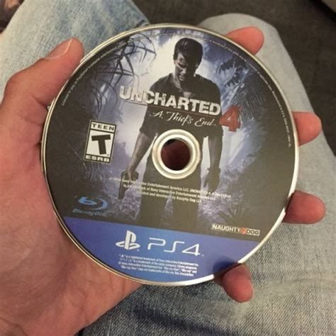 uncharted  ps disc image revealed twitter reacts