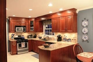 kitchen cabinets with lights cherry bomb traditional kitchen other metro by 6476