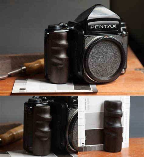 pentax 6x7 gear review pentax 6x7 wooden grip by snapu west end