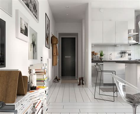 scandinavian apartments bright scandinavian decor in 3 small one bedroom apartments