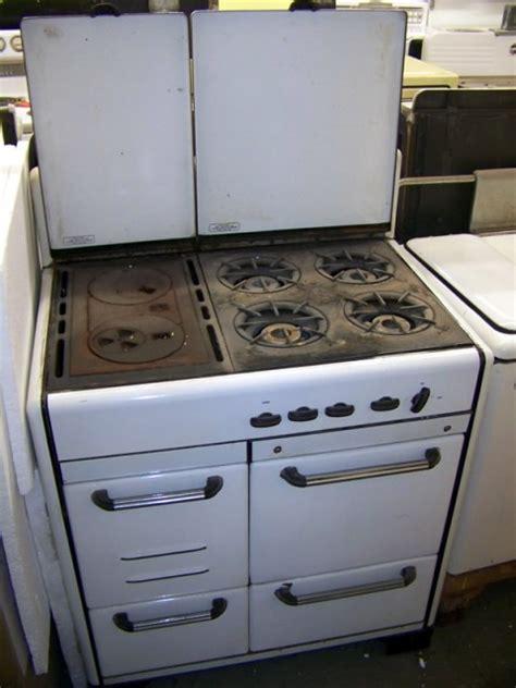 crown gaswood combo antique appliances