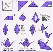 Origami peace crane di...