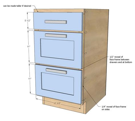how to build kitchen cabinet drawers white build a 18 quot kitchen cabinet drawer base free