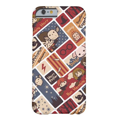 Harry Potter Cartoon Scenes Pattern Barely There Iphone