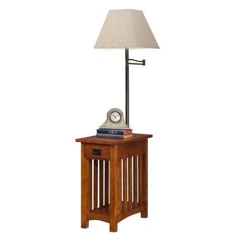 end table with built in l table with l built in outstanding for image of end