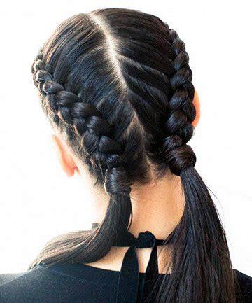 double french braids   girls   pretty