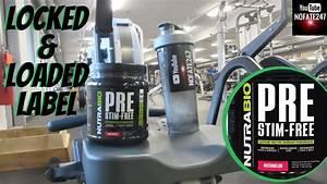 Nutrabio Stim Free Pre Workout Reviews