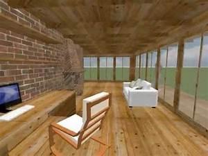 Suite Home 3d : sweet home 3d wooden house youtube ~ Premium-room.com Idées de Décoration