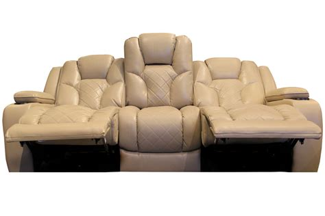 reclining sofa with drop down table turismo power reclining sofa with drop down table at